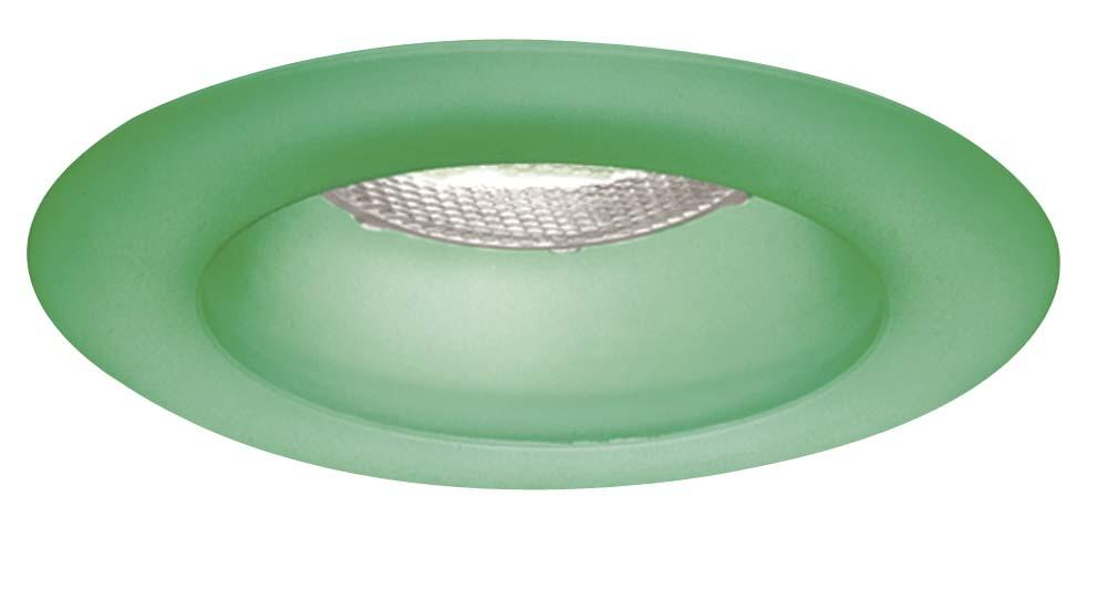 "Vinings Lighting Inc in Alpharetta, Georgia, United States, Minka-Lavery wg400-eg, 4"" Frosted Emerald Green Glass Trim Ring,"