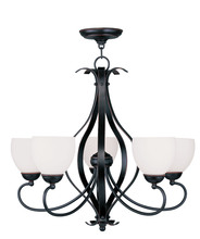 Livex Lighting 4765-67 - 5 Light Olde Bronze Chandelier