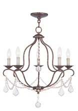 Livex Lighting 6435-71 - 5 Light VBR Chandelier