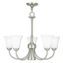 Livex Lighting 6465-91 - 6 Light EBZ Dinette Chandelier