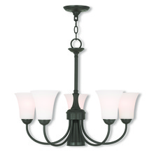 Livex Lighting 6465-92 - 6 Light EBZ Dinette Chandelier