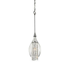 Artcraft AC700 - Omni 1 Light  Chrome Pendant