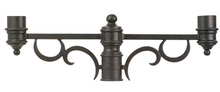 Kalco 9307MB - Outdoor Double Post Mount Bracket