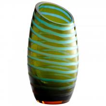 Cyan Designs 00104 - Lg Angle Cut Etched Vase