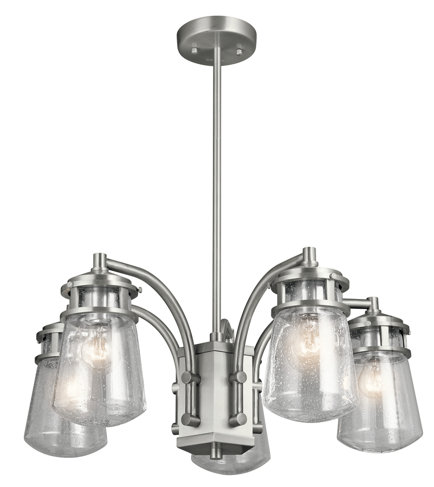 Vinings Lighting Inc in Alpharetta, Georgia, United States, Kichler 49498BA, Outdoor Chandelier 5Lt, Lyndon