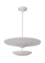 Craftmade 42941-W-LED - Echo 1 Light LED Pendant in White