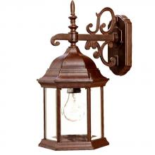 Acclaim Lighting 5184BW - Madison Collection Wall-Mount 1-Light Outdoor Burled Walnut Light Fixture