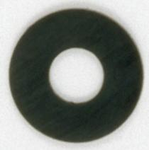 Satco Products Inc. 90/1170 - Rubber Washer 1/8 IP Slip - Black 2""