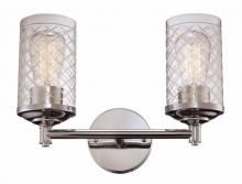 "Trans Globe 20472 PC - Lucille 14.25"" Wall Sconce"