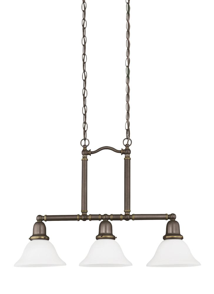 Vinings Lighting Inc in Alpharetta, Georgia, United States, Sea Gull 66061EN-782, Three Light Island Pendant, Sussex