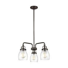 Sea Gull 3114503-782 - Three Light Chandelier