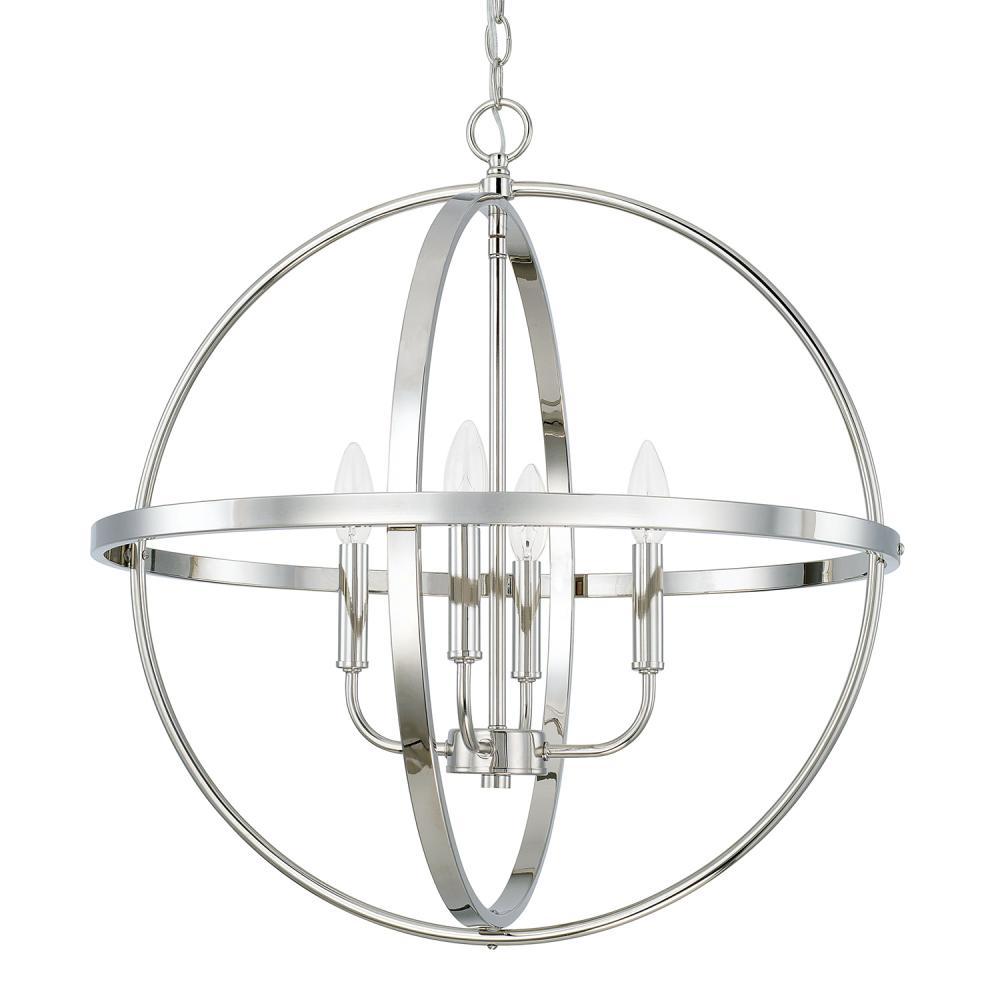 Vinings Lighting Inc in Alpharetta, Georgia, United States, Capital 317542PN, 4 Light Pendant, Pendant/Foyer