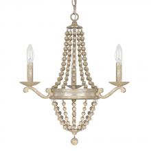 Capital 4443SQ-000 - 3 Light Chandelier