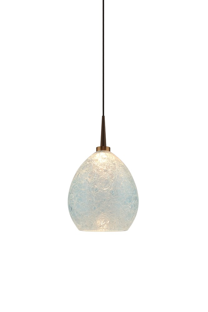 Vibe LED Pendant with Canopy : 223886bz/MP   Vinings