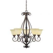 Millennium 1255-RBZ - Chandelier Ceiling Light