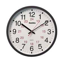 "Dainolite 22502-BK - Magnus -12"" Office Clock 12/24"