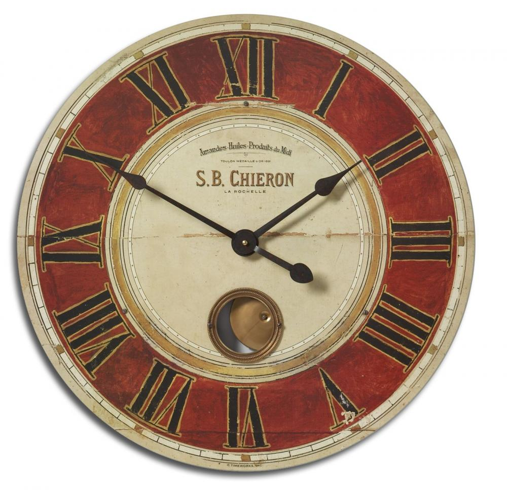 "Vinings Lighting Inc in Alpharetta, Georgia, United States, Uttermost 06042, Uttermost S.B. Chieron 23"" Wall Clock, S.B. Chieron"