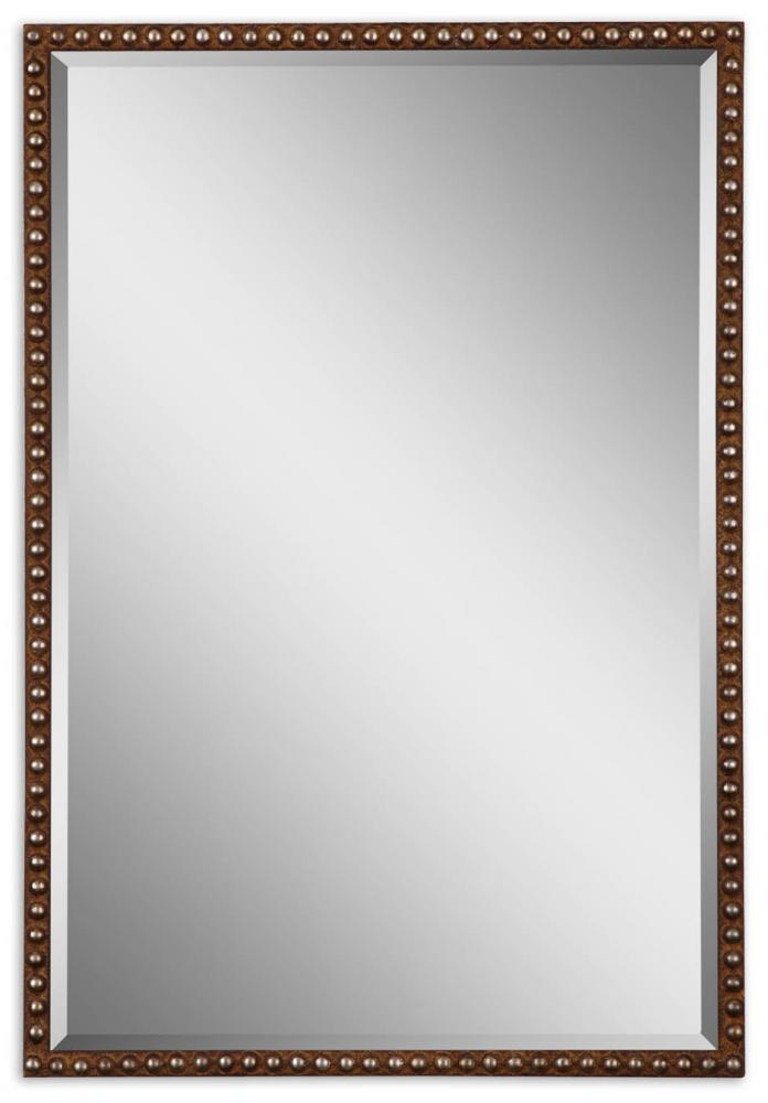 Vinings Lighting Inc in Alpharetta, Georgia, United States, Uttermost 13749, Uttermost Tempe Distressed Brown Mirror, Tempe