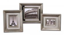 Uttermost 18519 - Uttermost Hasana Antique Silver Photo Frame Set/3