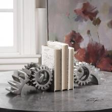 Uttermost 18702 - Uttermost Gears Silver Bookends S/2