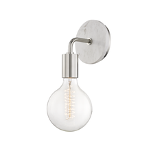 "Hudson Valley H110101A-PN - 1 Light Wall Sconce ""A"" Style"
