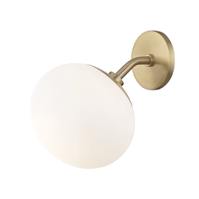Hudson Valley H134101-AGB - 1 Light Wall Sconce