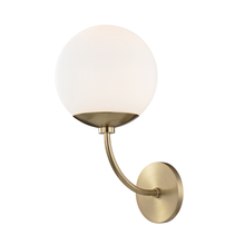 Hudson Valley H160101-AGB - 1 Light Wall Sconce