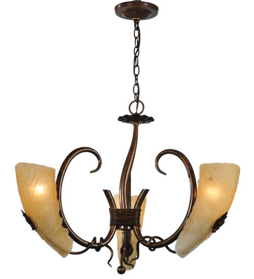 "Vinings Lighting Inc in Alpharetta, Georgia, United States, Meyda Tiffany 82883, 26""W Coil 3 Lt Chandelier, Coil"
