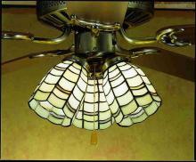 "Meyda Tiffany 27479 - 4""W Maiss Fan Light Shade"