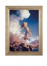 "Meyda Tiffany 46437 - 22""W X 29""H Maxfield Parrish Ecstacy Framed Art"