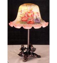 "Meyda Tiffany 68594 - 10""H Morning Glory Candle Lamp"